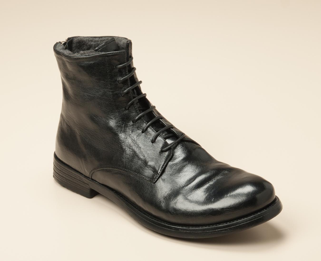 b93e3f44390bd4 Officine Creative Herren Boots in schwarz kaufen