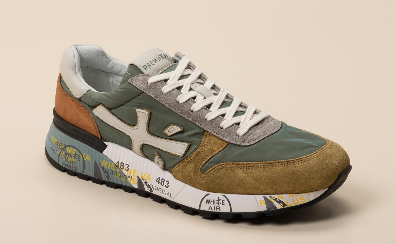Premiata Herren Sneaker in grün kaufen | Zumnorde Online Shop