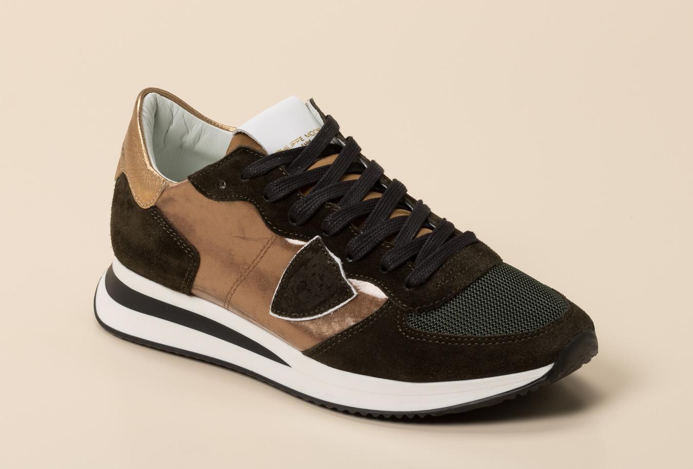 Philippe Model Paris Damen Sneaker in grün kaufen   Zumnorde Online Shop