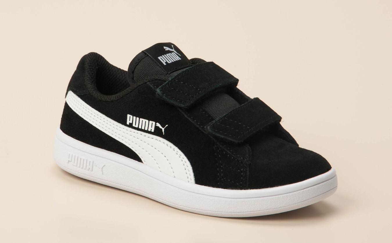 Puma Sneaker Kinder Schwarz In Klettverschluss Kaufen