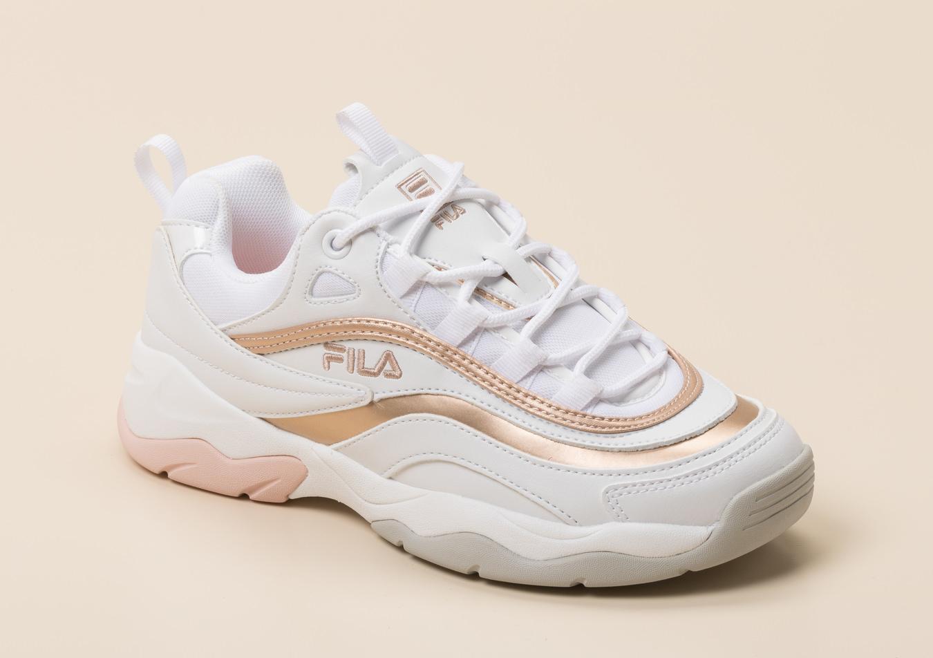 Roségoldene Schuhe von Fila