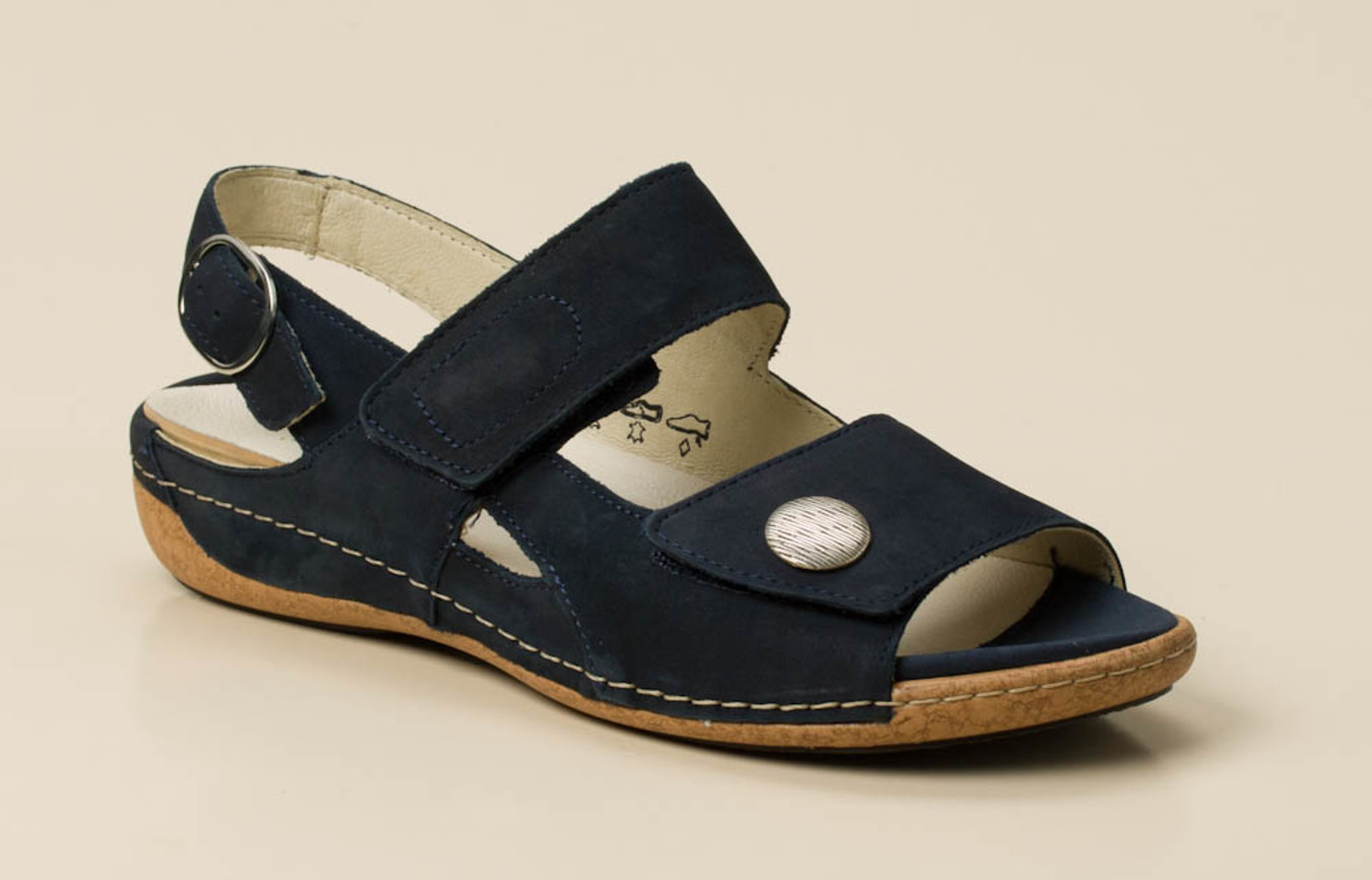 WALDLÄUFER DAMEN SOMMER Schuhe Sandalen Comfort Sandaletten
