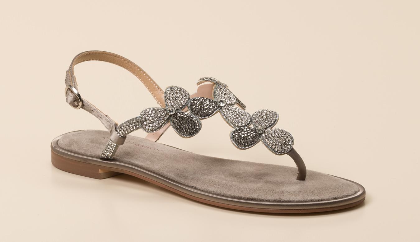 Zehentrenner Sandale