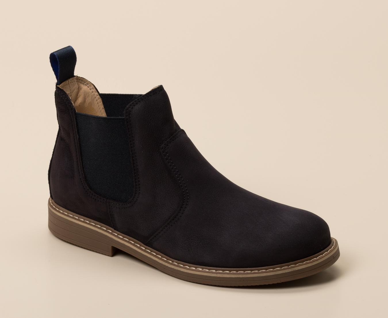 0f914dfdd1d434 Ralph Harrison Classic Kinder Chelsea-Boots in dunkelblau kaufen ...