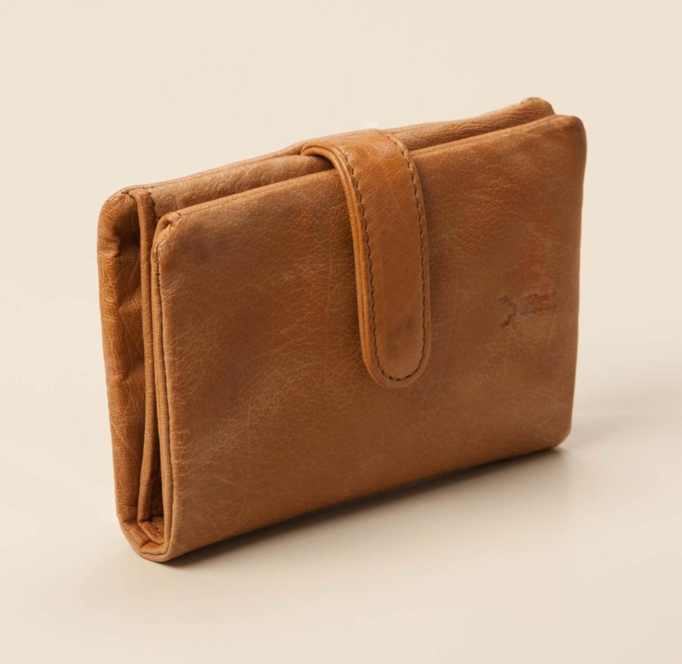 4c53e6349ba4b Jack Kinsky Damen-Acces. Portemonnaie in cognac kaufen