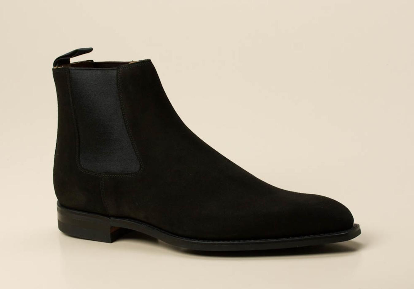 hochwertige chelsea boots herren