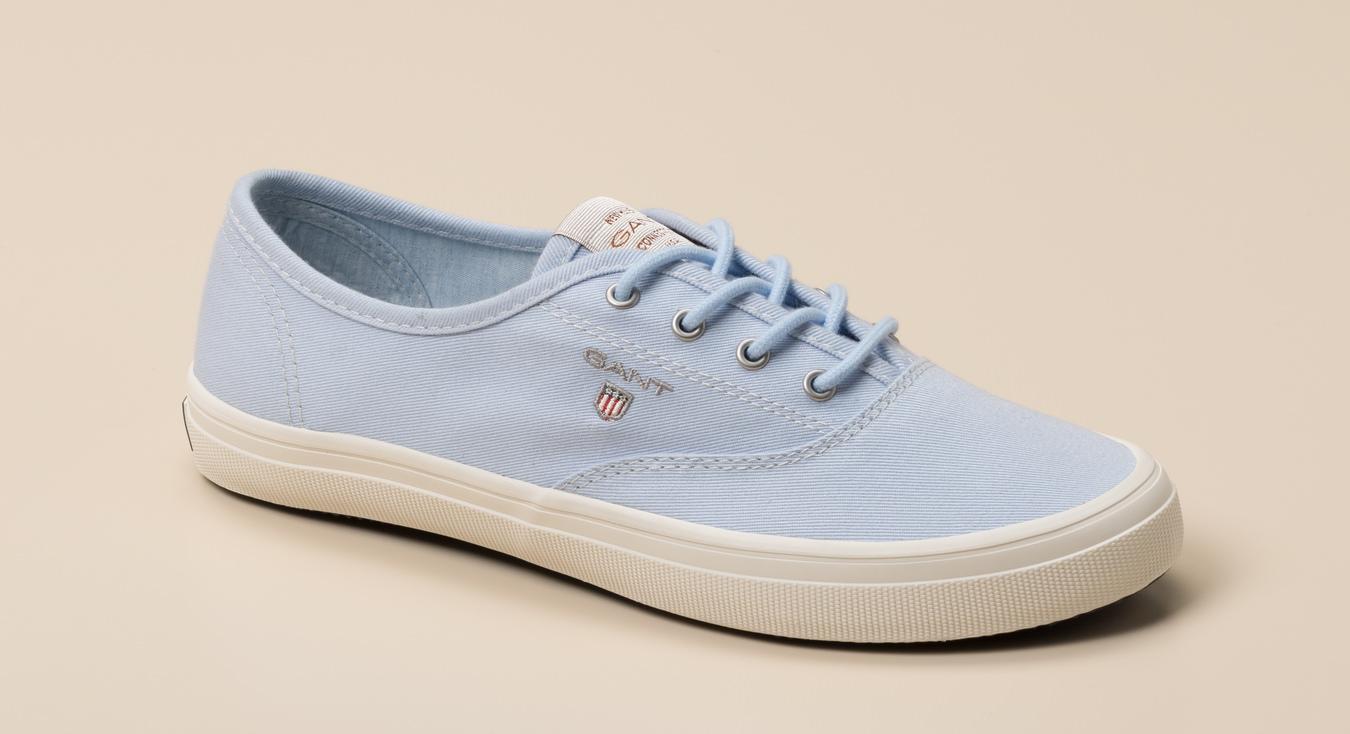 b5f2fc608d25af Gant Damen Sneaker in hellblau kaufen