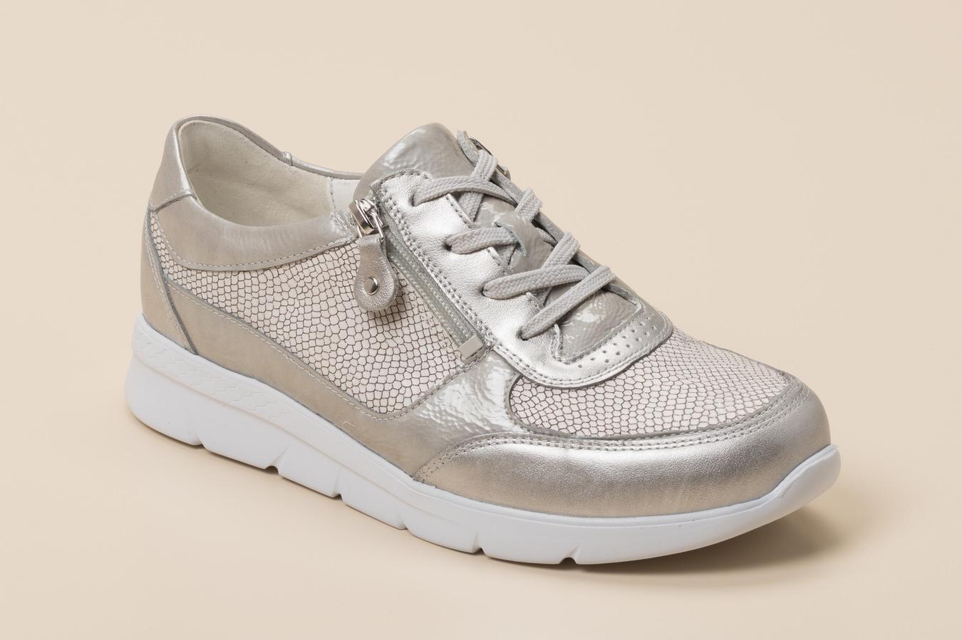 17128b5d649d Waldläufer Damen Sneaker in silber kaufen | Zumnorde Online-Shop