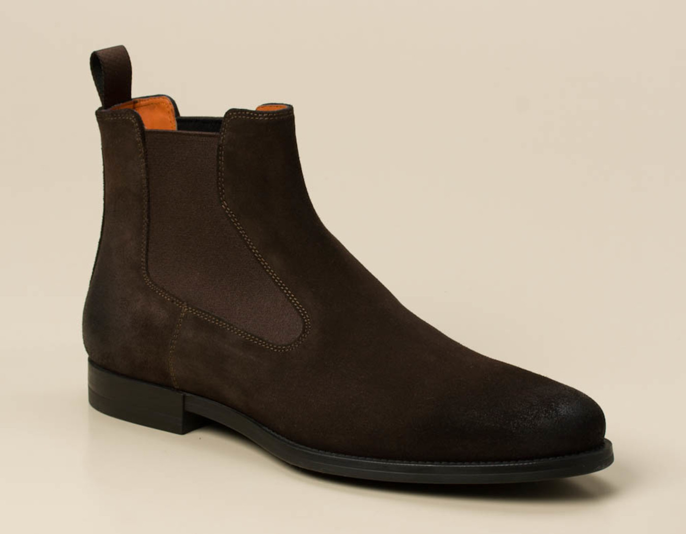8ada605a35a2a7 Santoni Herren Boots in dunkelbraun kaufen