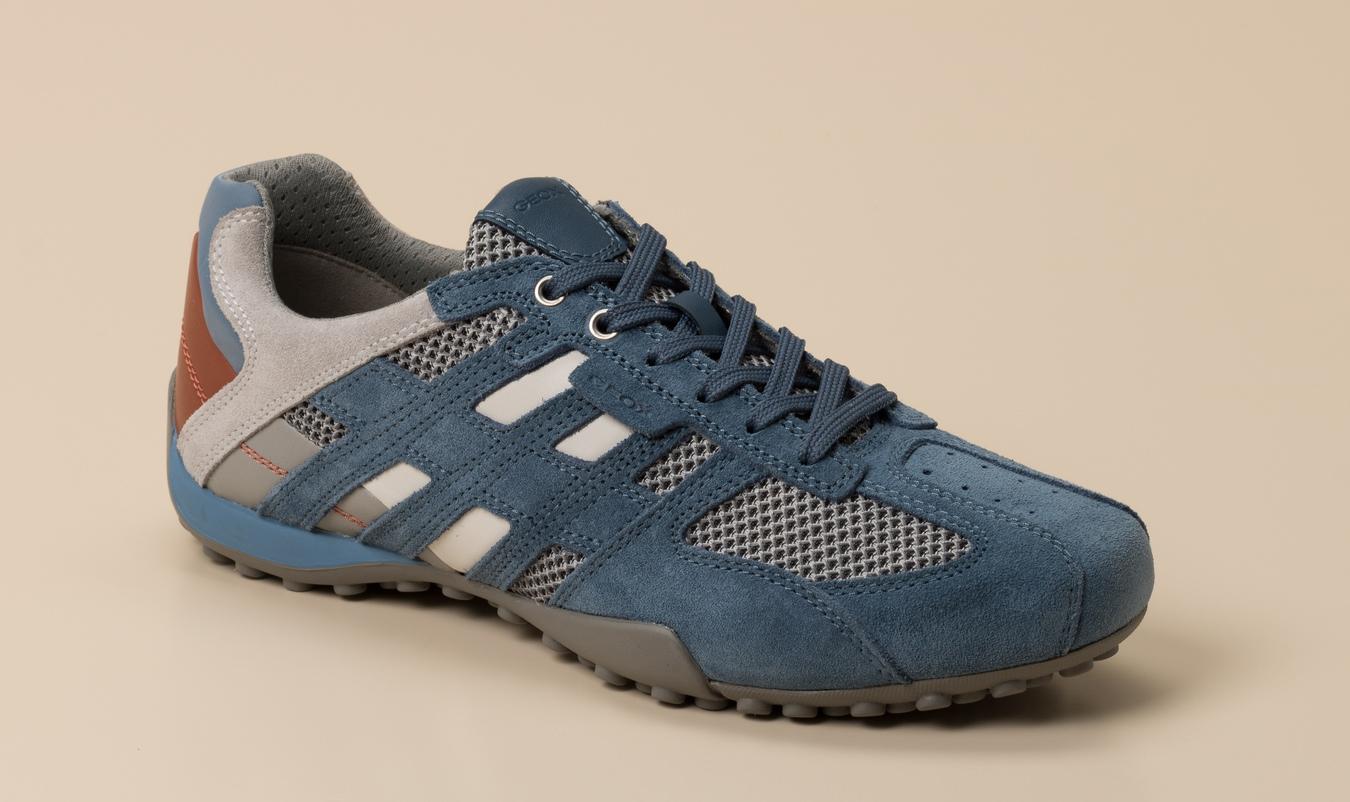 Geox Herren Sneaker in blaugrau kaufen | Zumnorde Online Shop