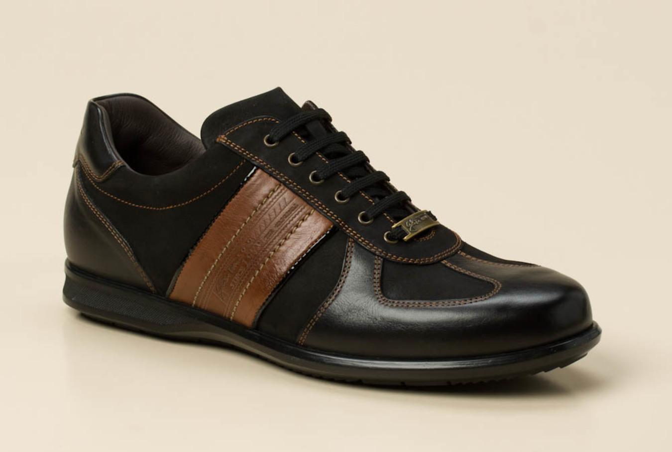 ad938cbec7ff6c Galizio Torresi Herren Sneaker in schwarz braun kaufen