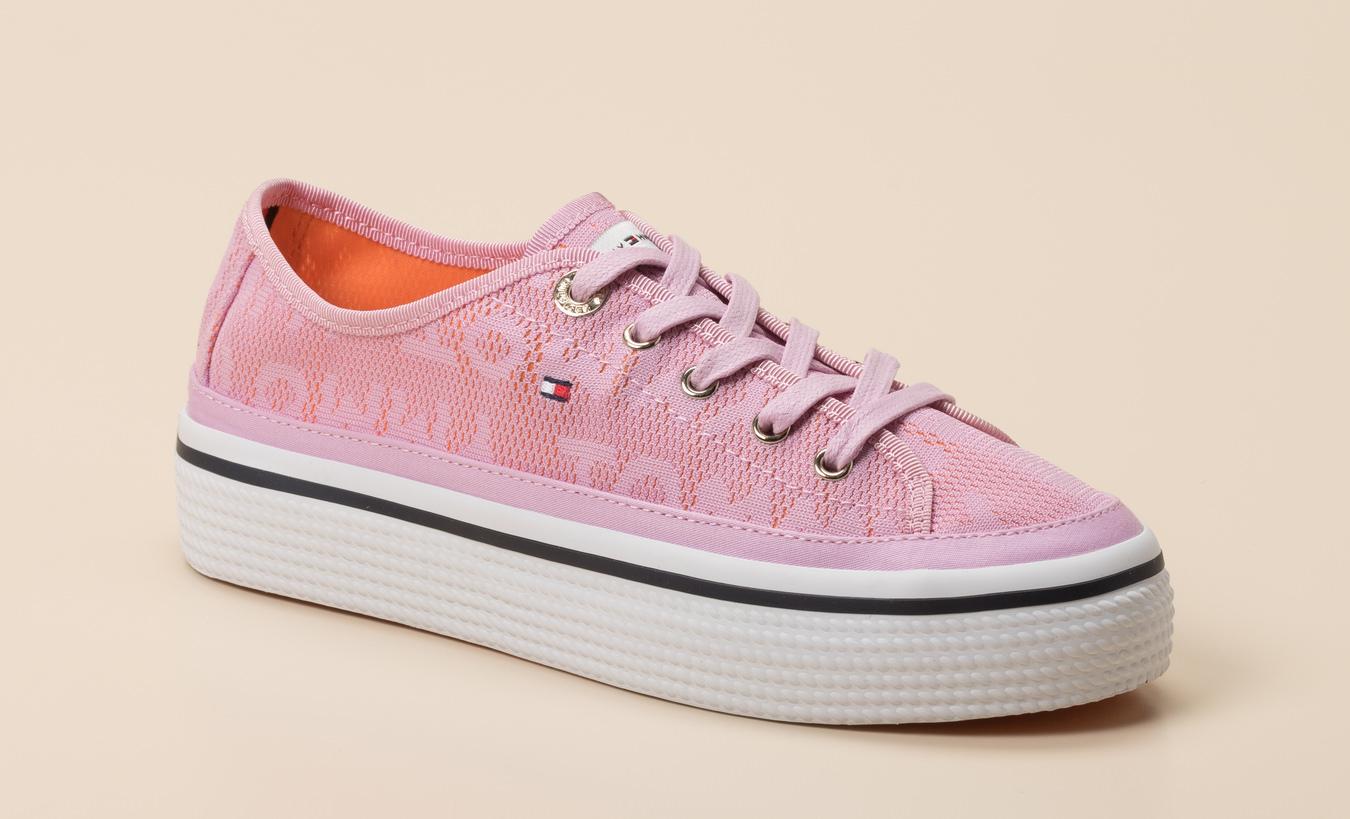 ef4bd9044298d Tommy Hilfiger Damen Sneaker in Pink kaufen   Zumnorde Online-Shop