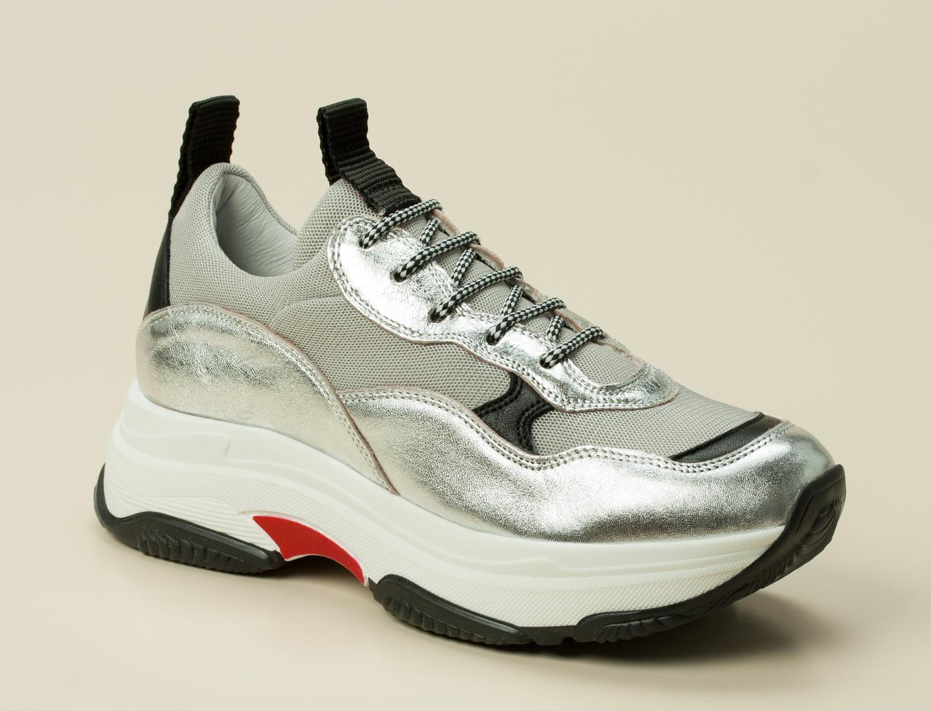 d56a86882bdb Gio+ Damen Sneaker in silber kaufen | Zumnorde Online-Shop