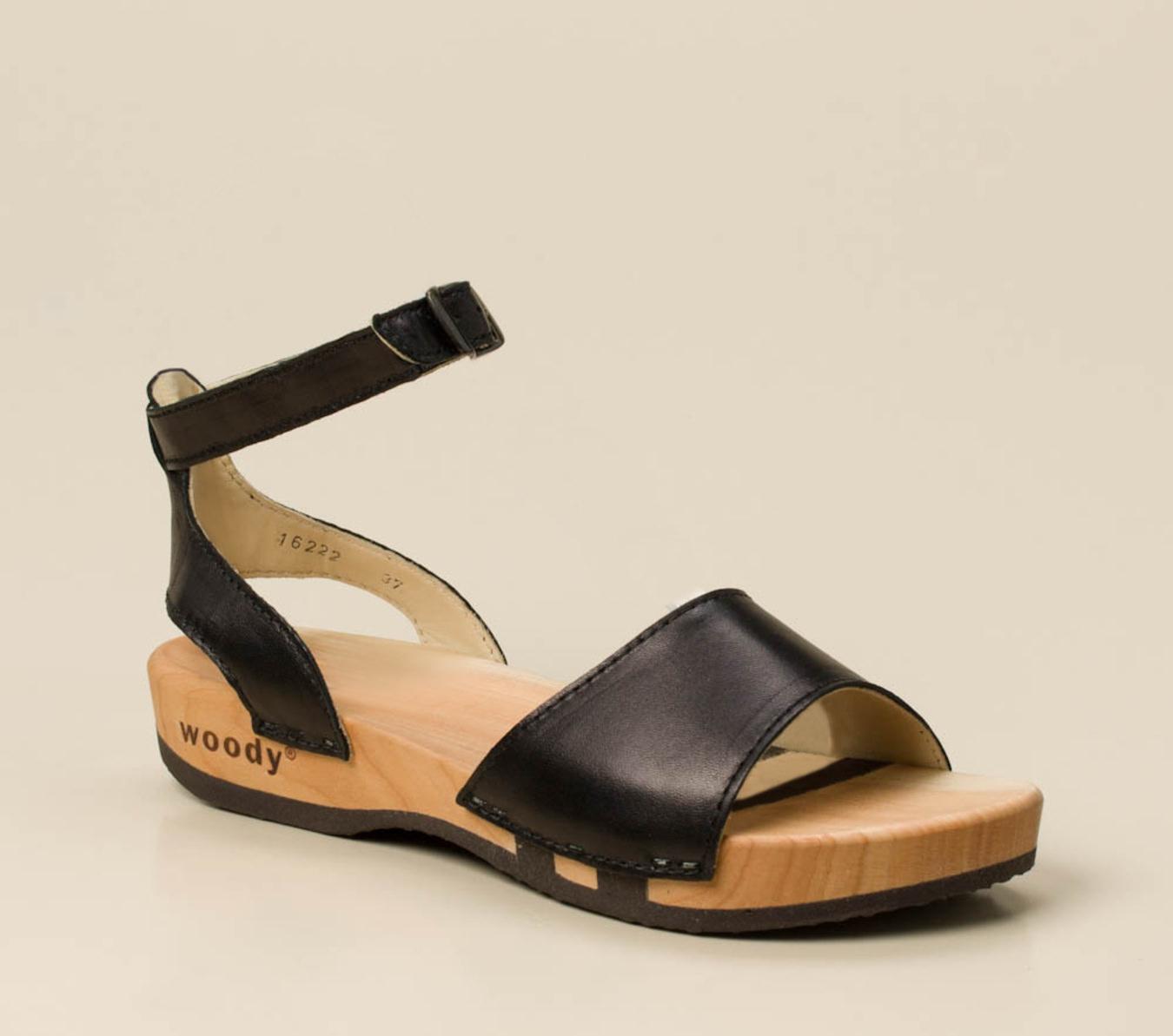 Goede Woody Damen Sandale in schwarz kaufen | Zumnorde Online-Shop OS-52