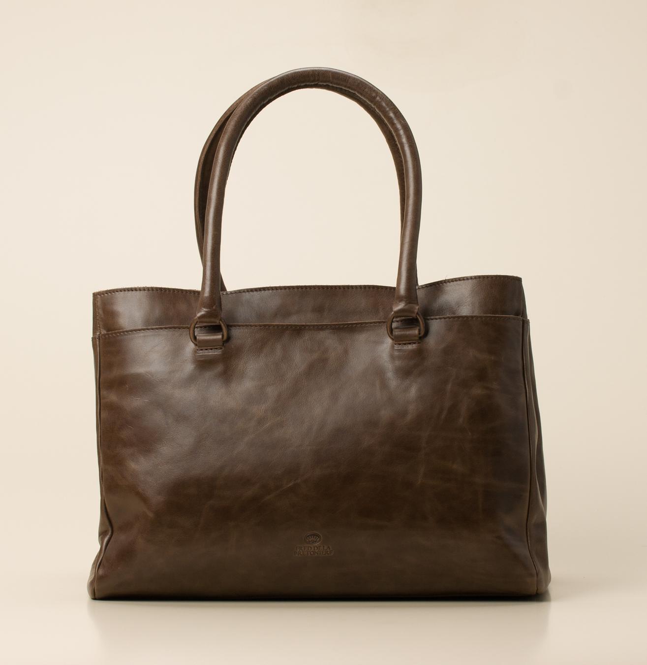 93ec3c8564662 Fred de la Bretoniere Damen-Acces. Handtasche in taupe kaufen ...