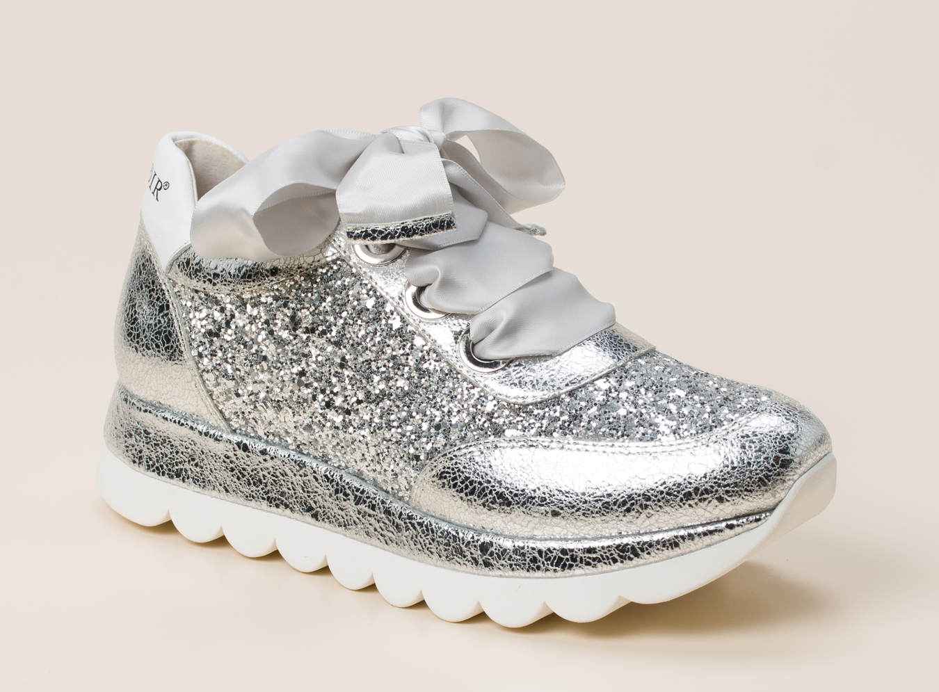 1bf69a0c7170 CAFèNOIR Damen Sneaker in silber kaufen | Zumnorde Online-Shop