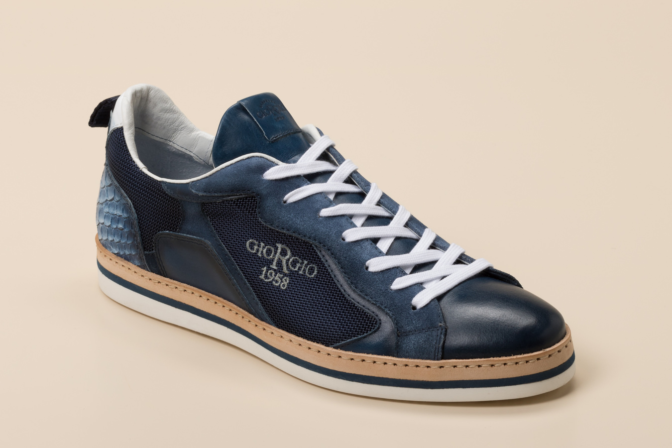 Giorgio Herren Sneaker in dunkelblau kaufen | Zumnorde Online Shop