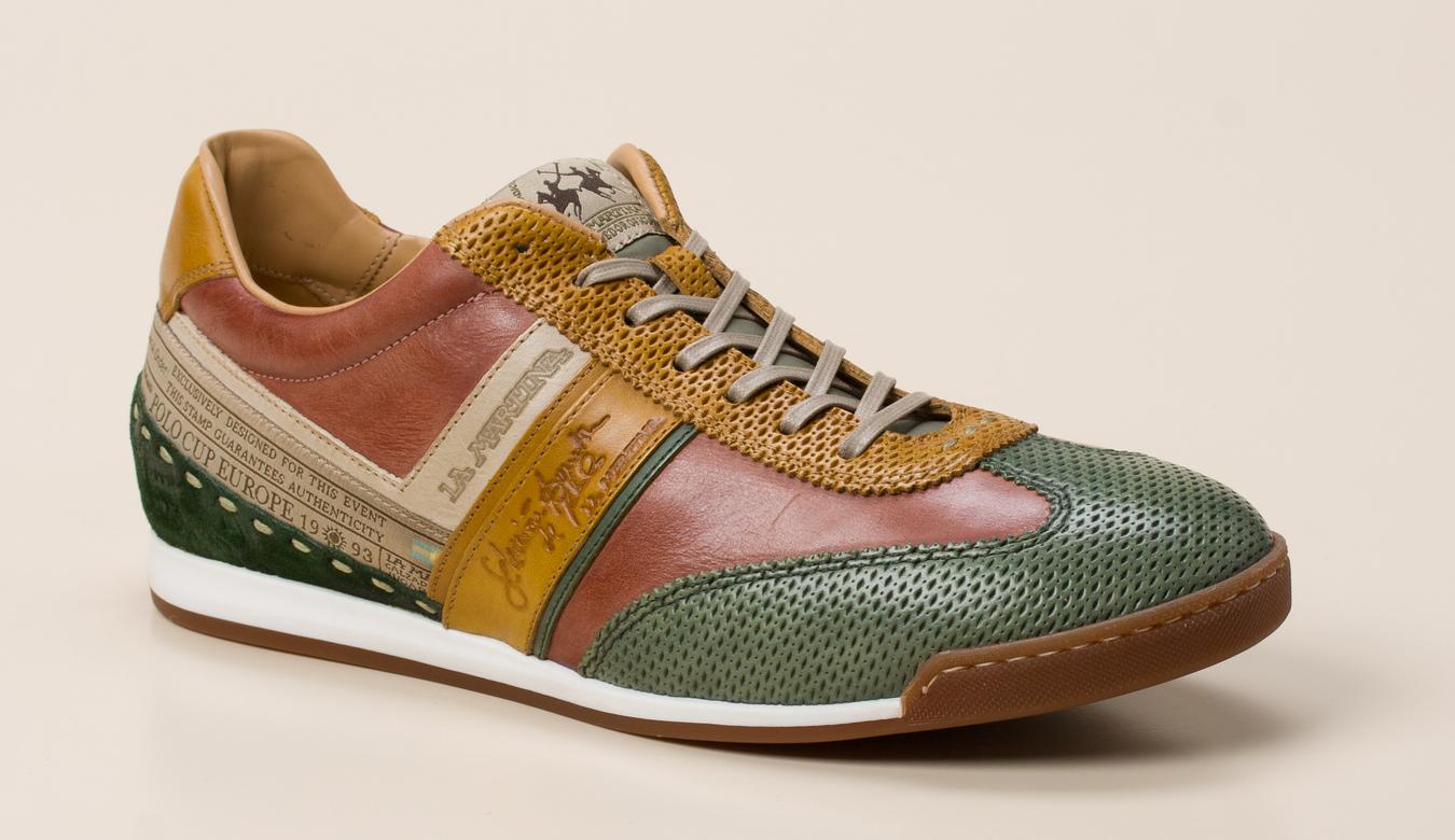 68c89d0368eaca La Martina Herren Sneaker in braun kaufen