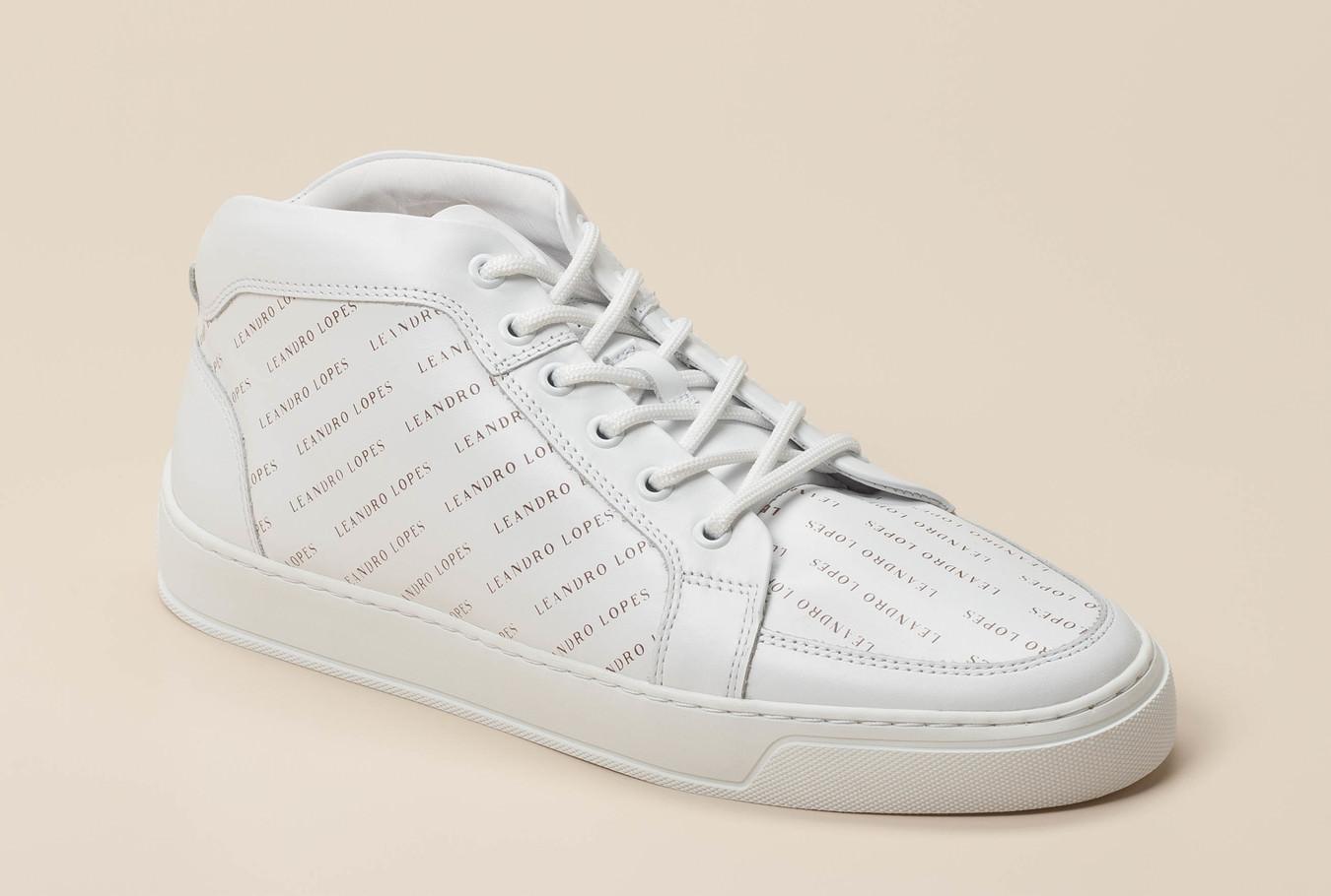 f76f62bbfe605e Leandro Lopes Herren Sneaker high in weiß kaufen