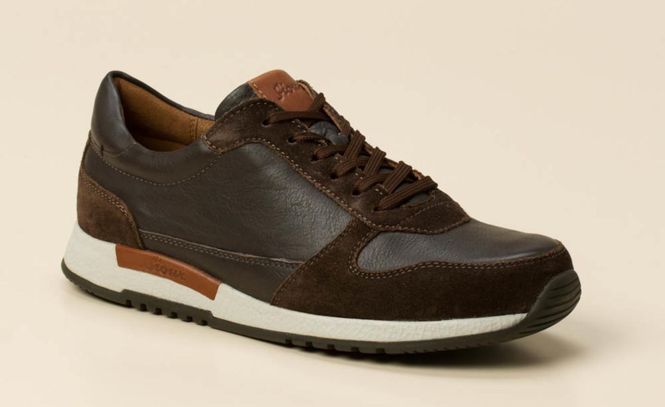 meet 96a8a bddde Sioux Herren Sneaker in dunkelbraun kaufen   Zumnorde Online-Shop