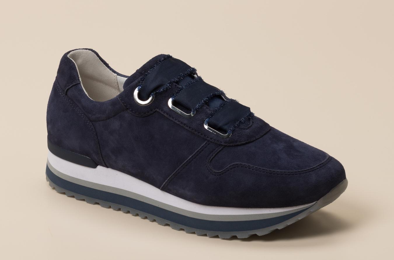 Gabor Comfort Damen Sneaker in dunkelblau kaufen | Zumnorde Online Shop