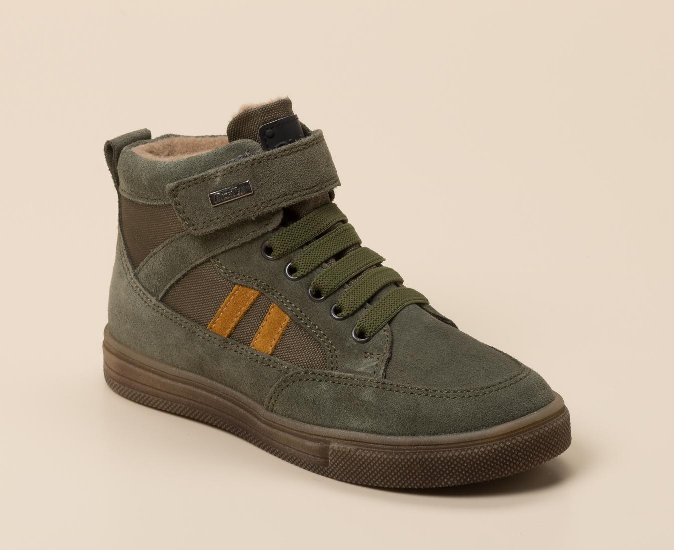 Richter blau grüne Sneaker Halbschuhe mit Stern in 24
