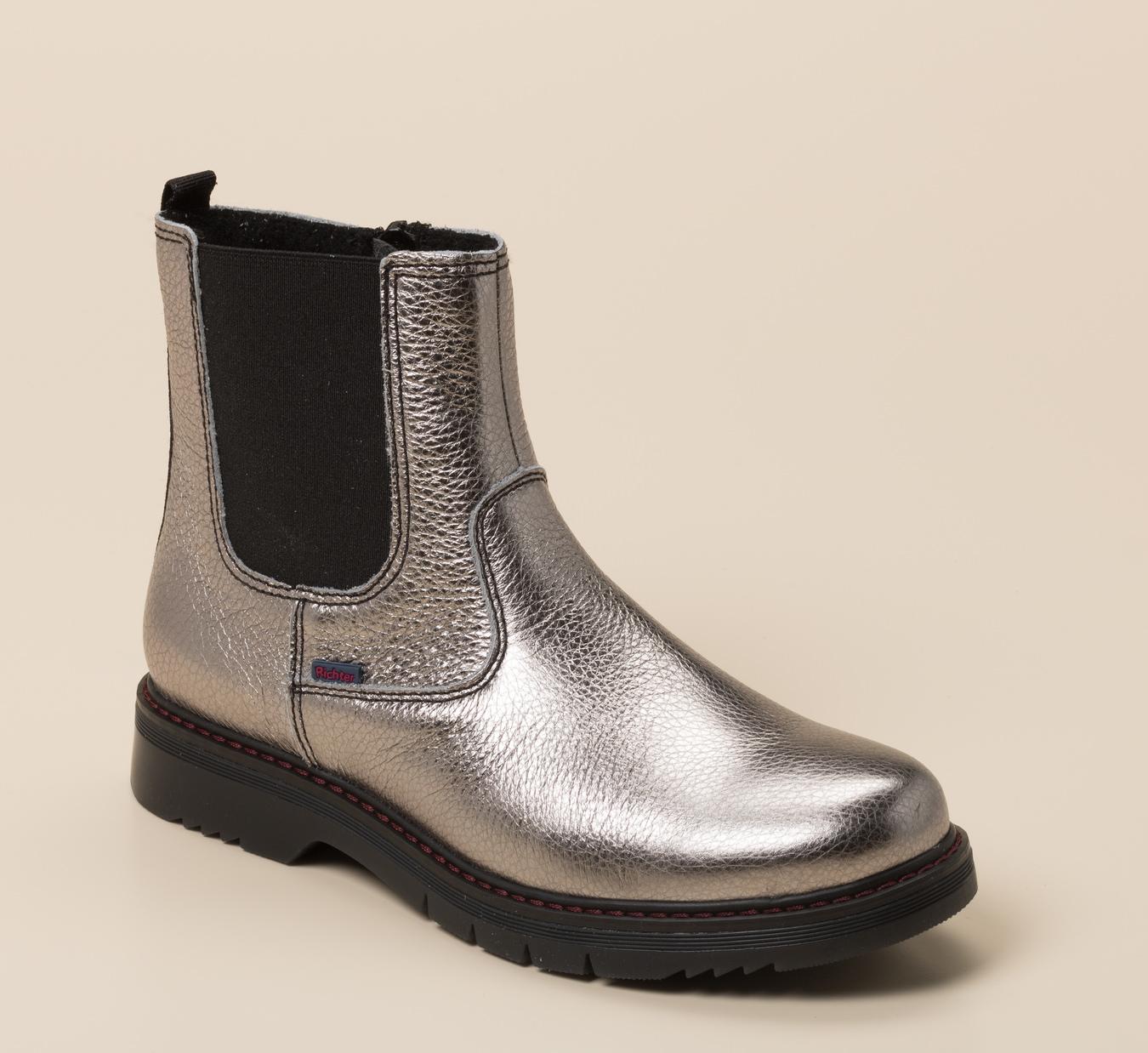 Stiefel und Stiefeletten in Silber für Damen günstig kaufen
