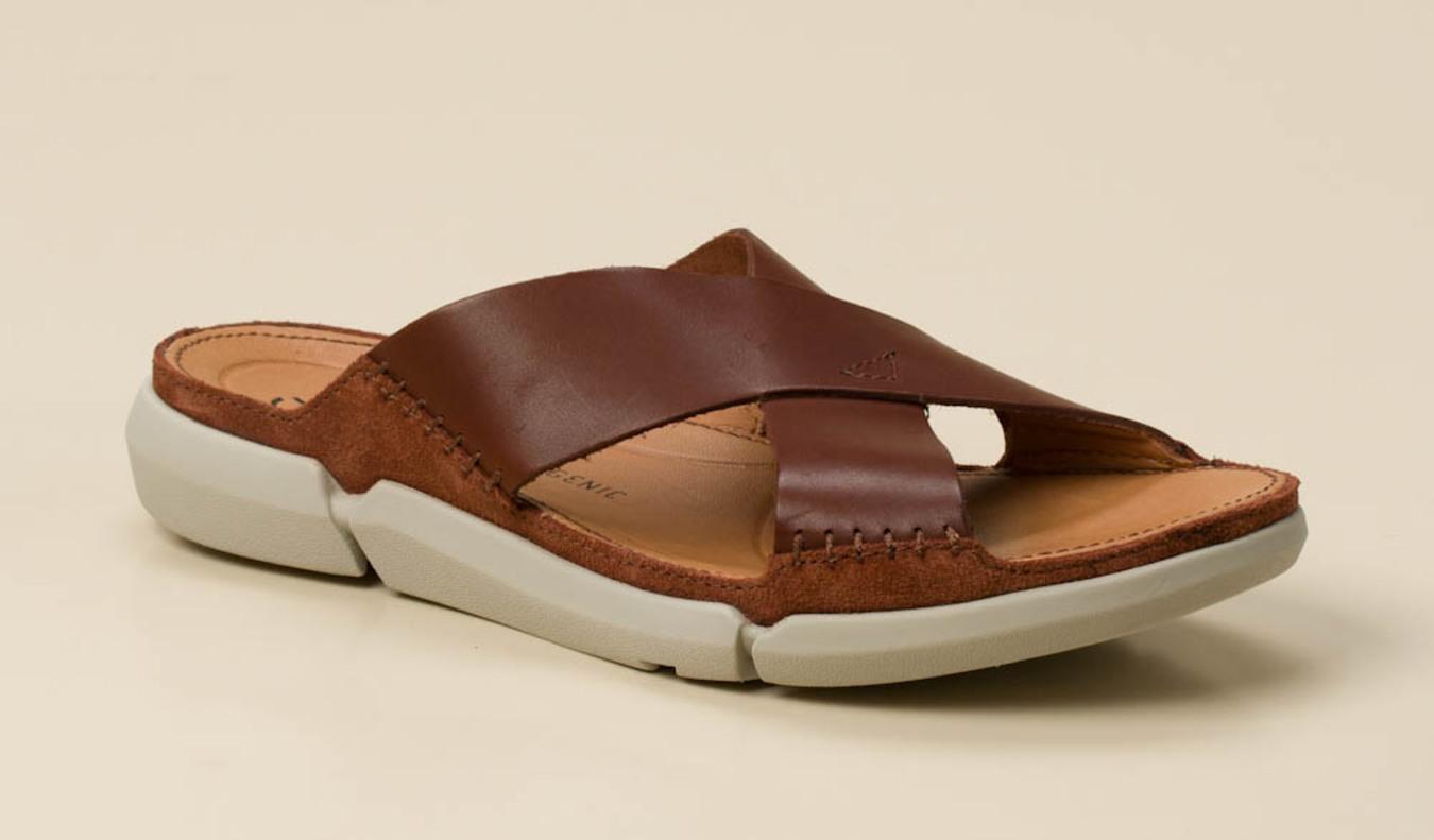 2637ee8a8f Clarks Herren Pantolette in cognac kaufen | Zumnorde Online-Shop