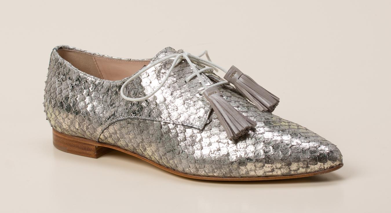 25165676b69c13 Pertini Damen Schnürschuh in grau kaufen