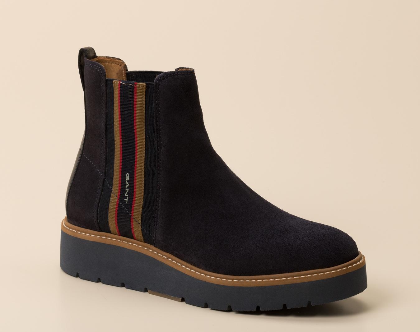 Gant Damen Chelsea Stiefelette in dunkelblau kaufen | Zumnorde Online Shop