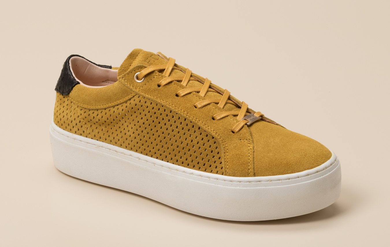f9e4a0e5de Shabbies Damen Sneaker in gelb kaufen