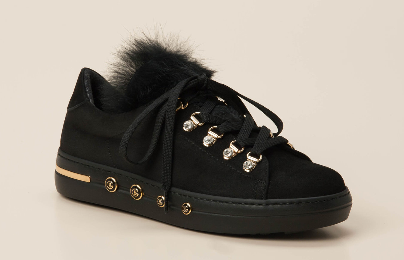 969035f139669 Baldinini Damen Sneaker in schwarz kaufen   Zumnorde Online-Shop