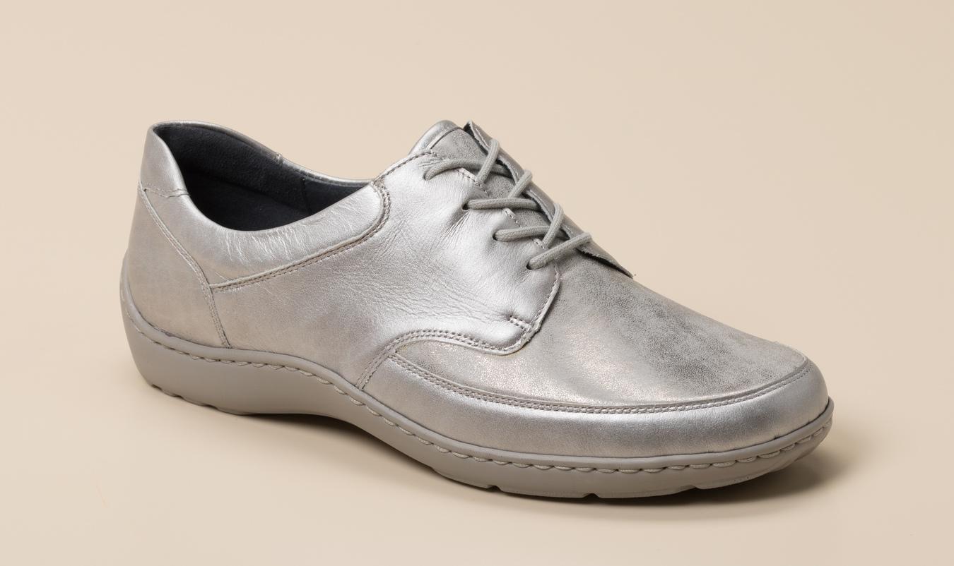 2f7094245ff0ae Waldläufer Damen Schnürschuh in grau kaufen