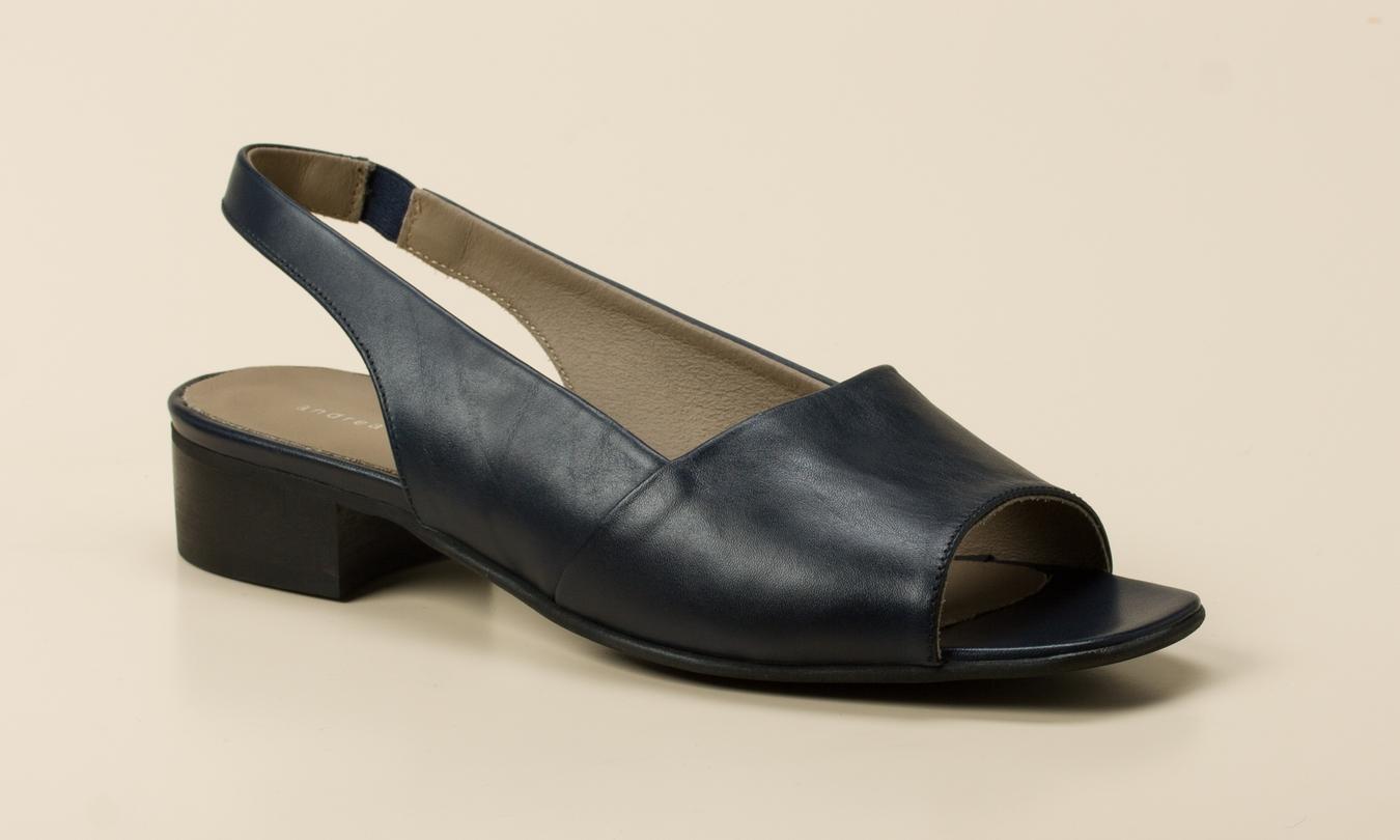 20cc525f98996c Andrea Puccini Damen Sandalette in dunkelblau kaufen