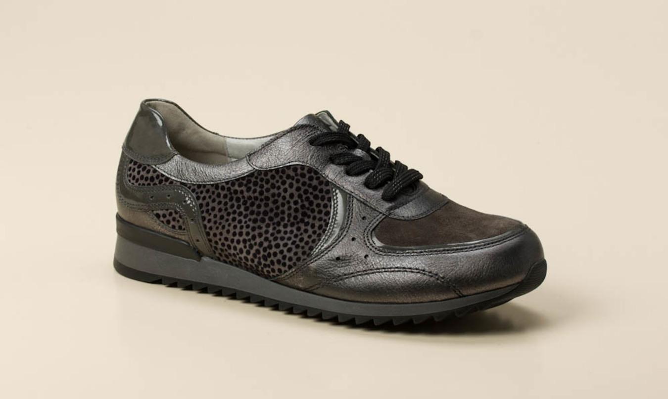 süß billig am besten online gut aussehen Schuhe verkaufen Waldläufer Damen Sneaker in grau kaufen | Zumnorde Online-Shop