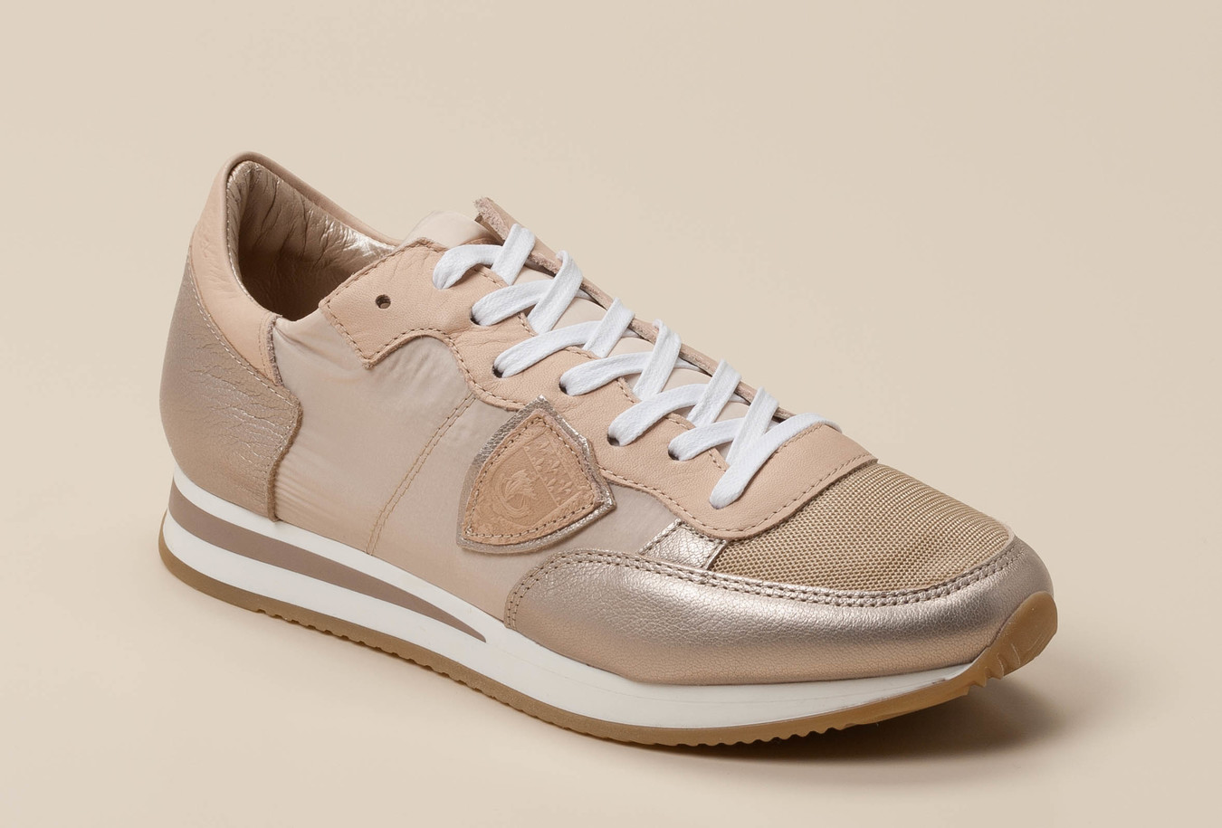 Philippe Model Paris Damen Sneaker in beige kaufen   Zumnorde Online Shop