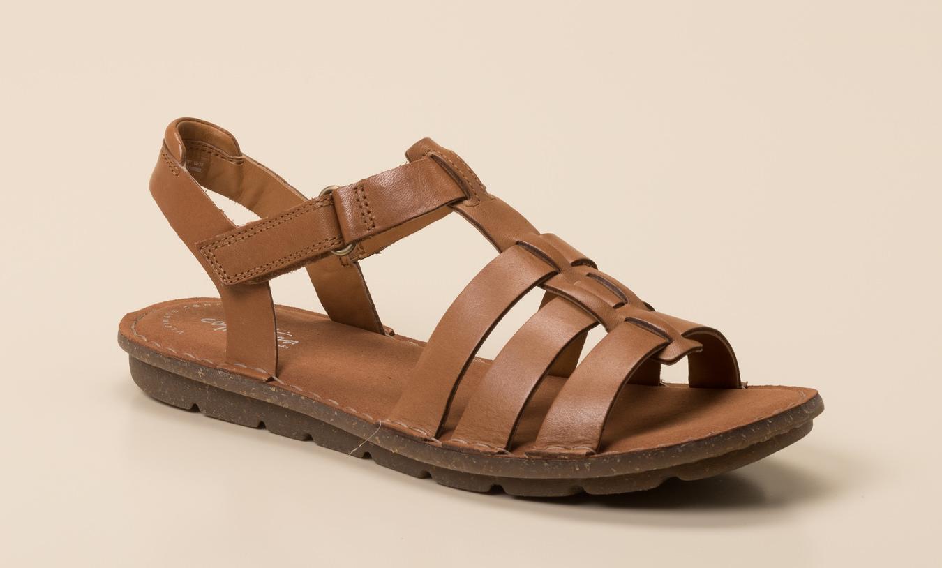 a0034be0f8 Clarks Damen Sandale in cognac kaufen | Zumnorde Online-Shop