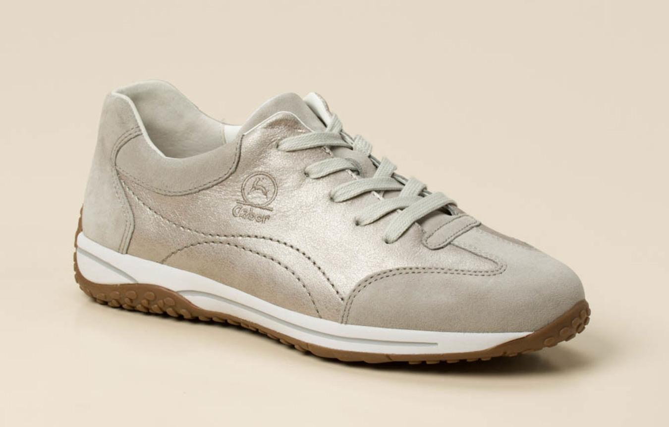 1793fd9c8aac7c Gabor Comfort Damen Sneaker in beige-grau kaufen