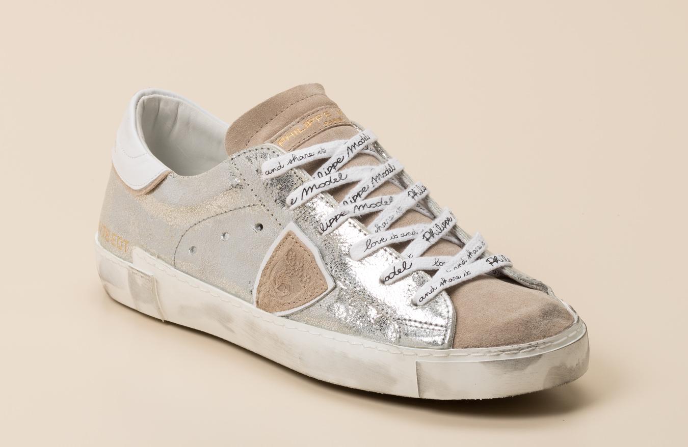 Philippe Model Paris Damen Sneaker in silber kaufen | Zumnorde Online Shop