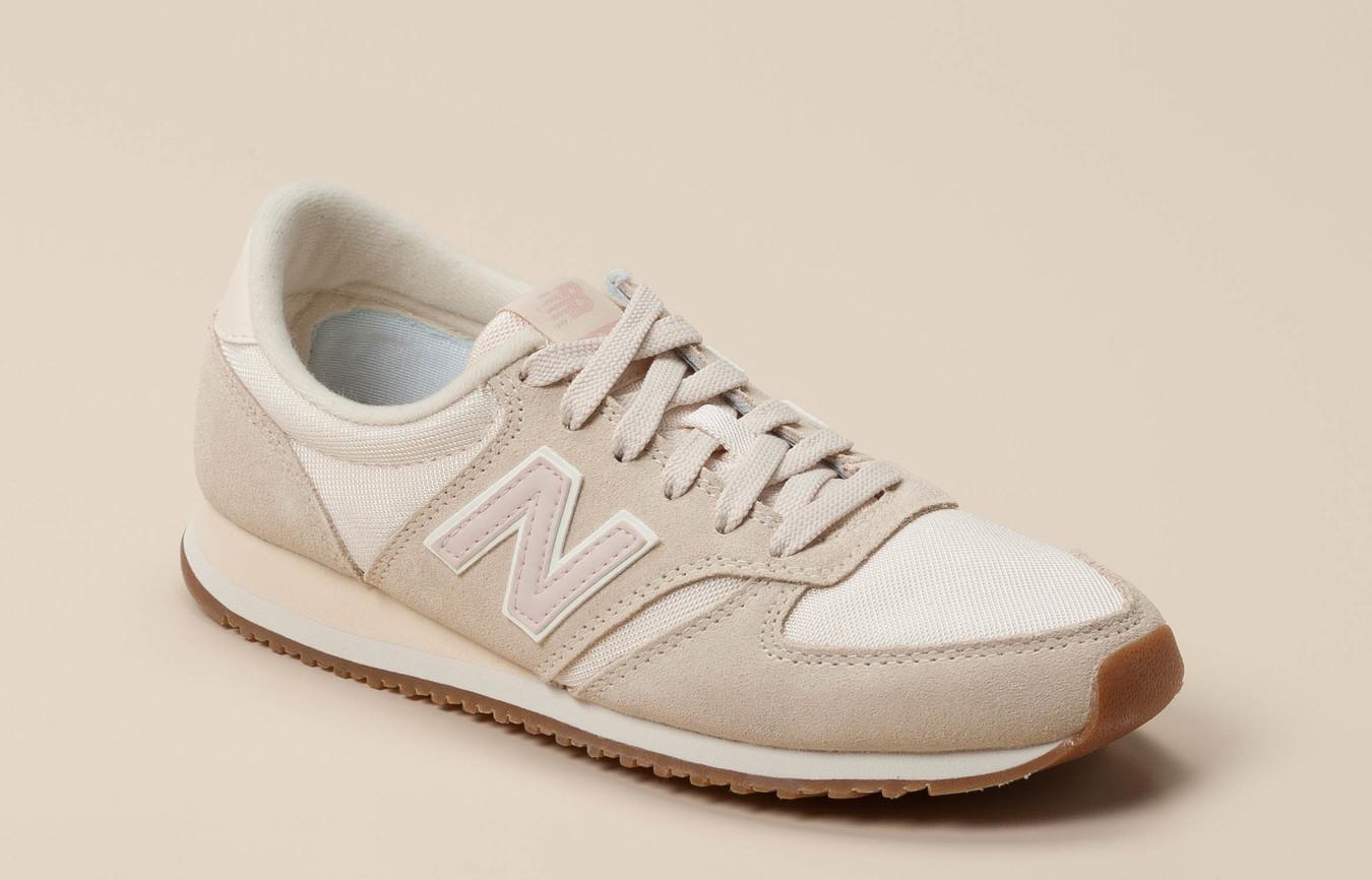 Neue New Balance Sneakers Beige Damen Auf Verkauf
