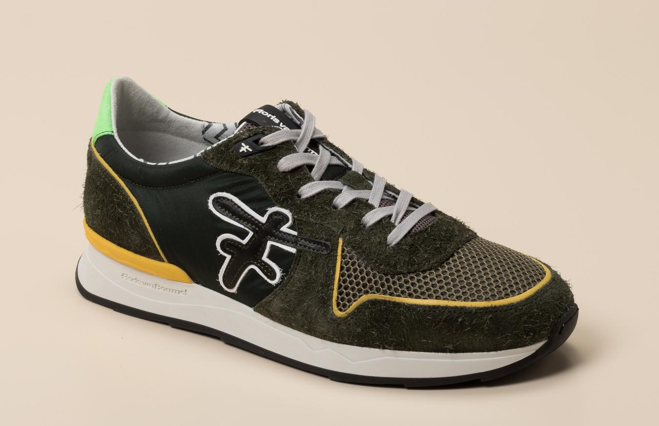 cc1b1c23663d44 Floris van Bommel Herren Sneaker in khaki oliv kaufen