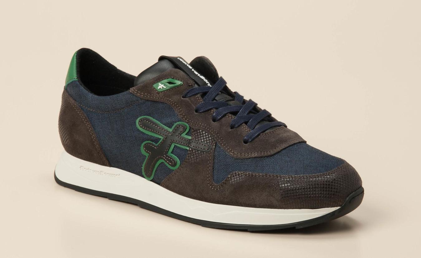 Floris van Bommel Herren Sneaker in blaubraun kaufen | Zumnorde Online Shop