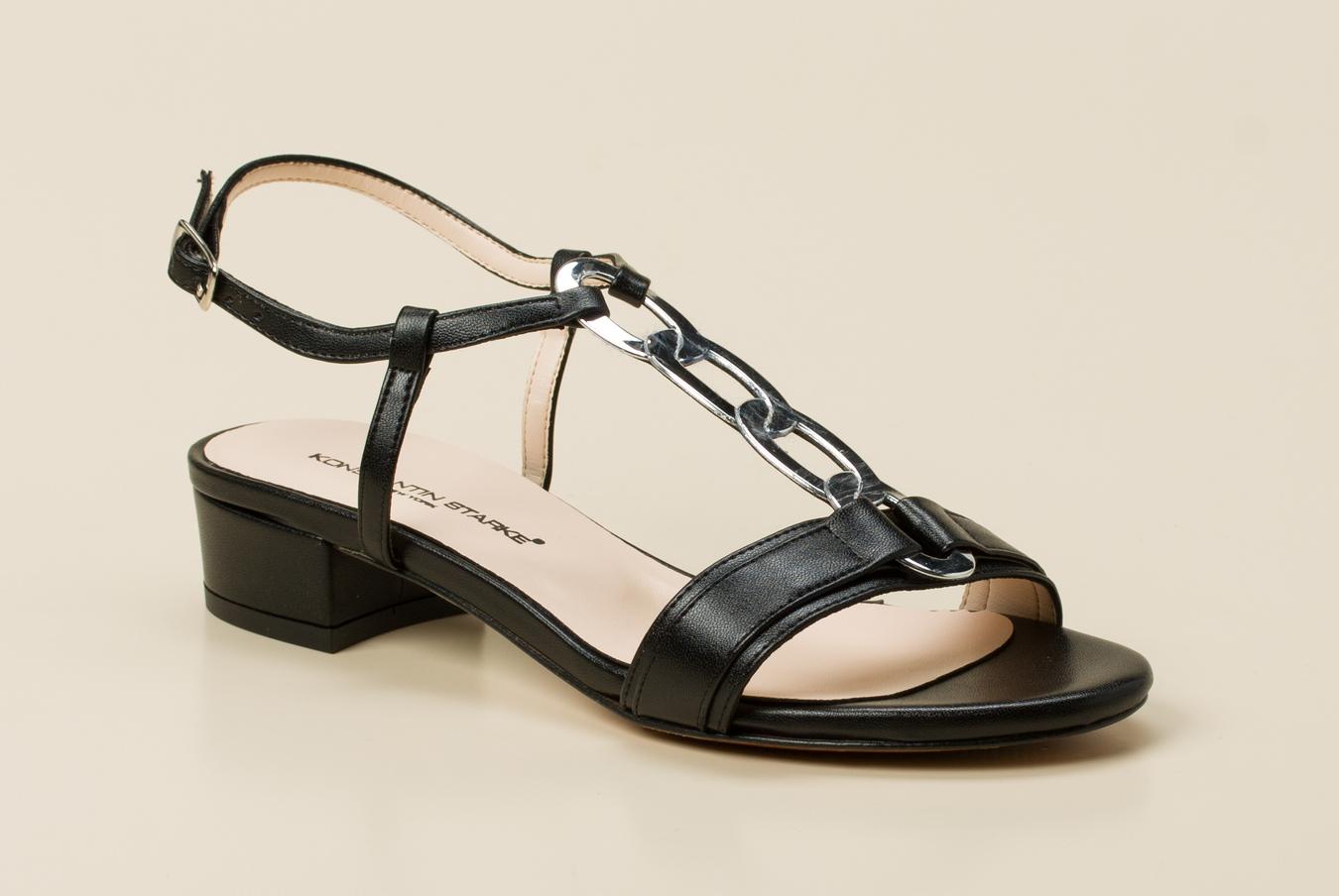 3fee6cb0d0932d Konstantin Starke Damen Sandalette in schwarz kaufen