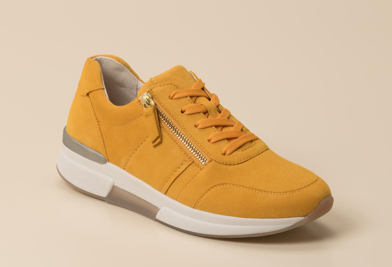 Gabor Comfort Damen Schnürschuh in gelb kaufen | Zumnorde
