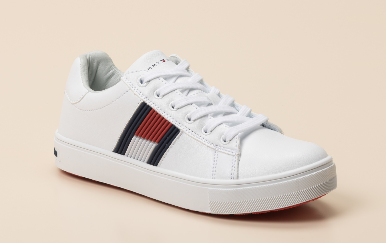 quality design 1fc4e 4a46e Tommy Hilfiger Kinder Sneaker in weiß kaufen   Zumnorde Online-Shop