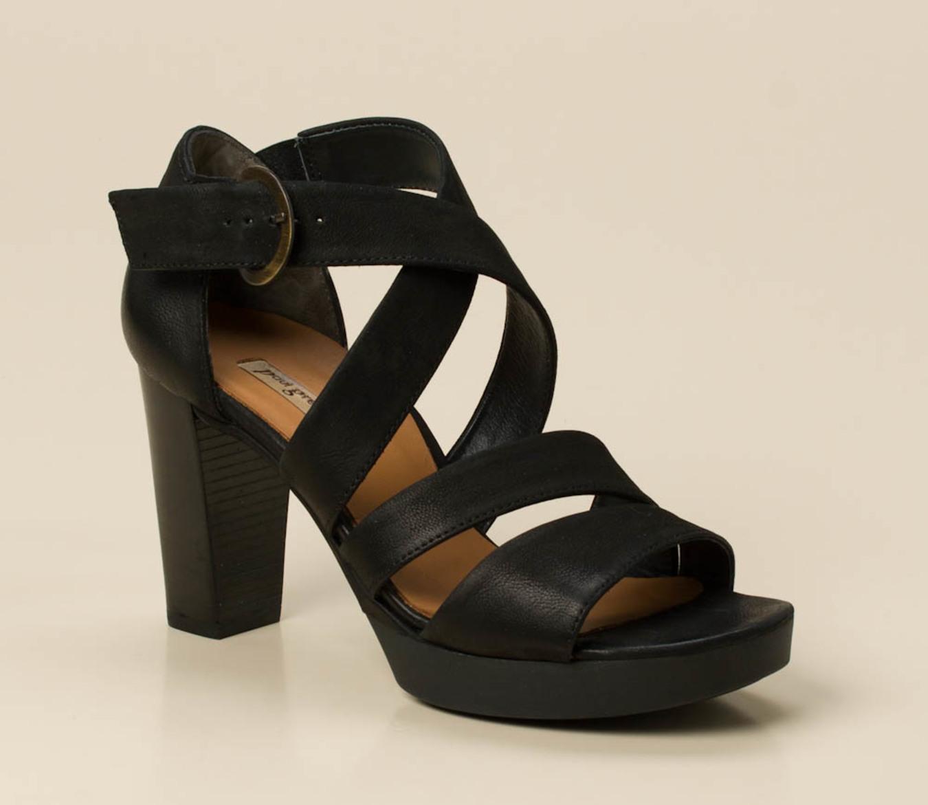 0f7b38c53e4770 Paul Green Damen Plateau-Sandalette in schwarz kaufen