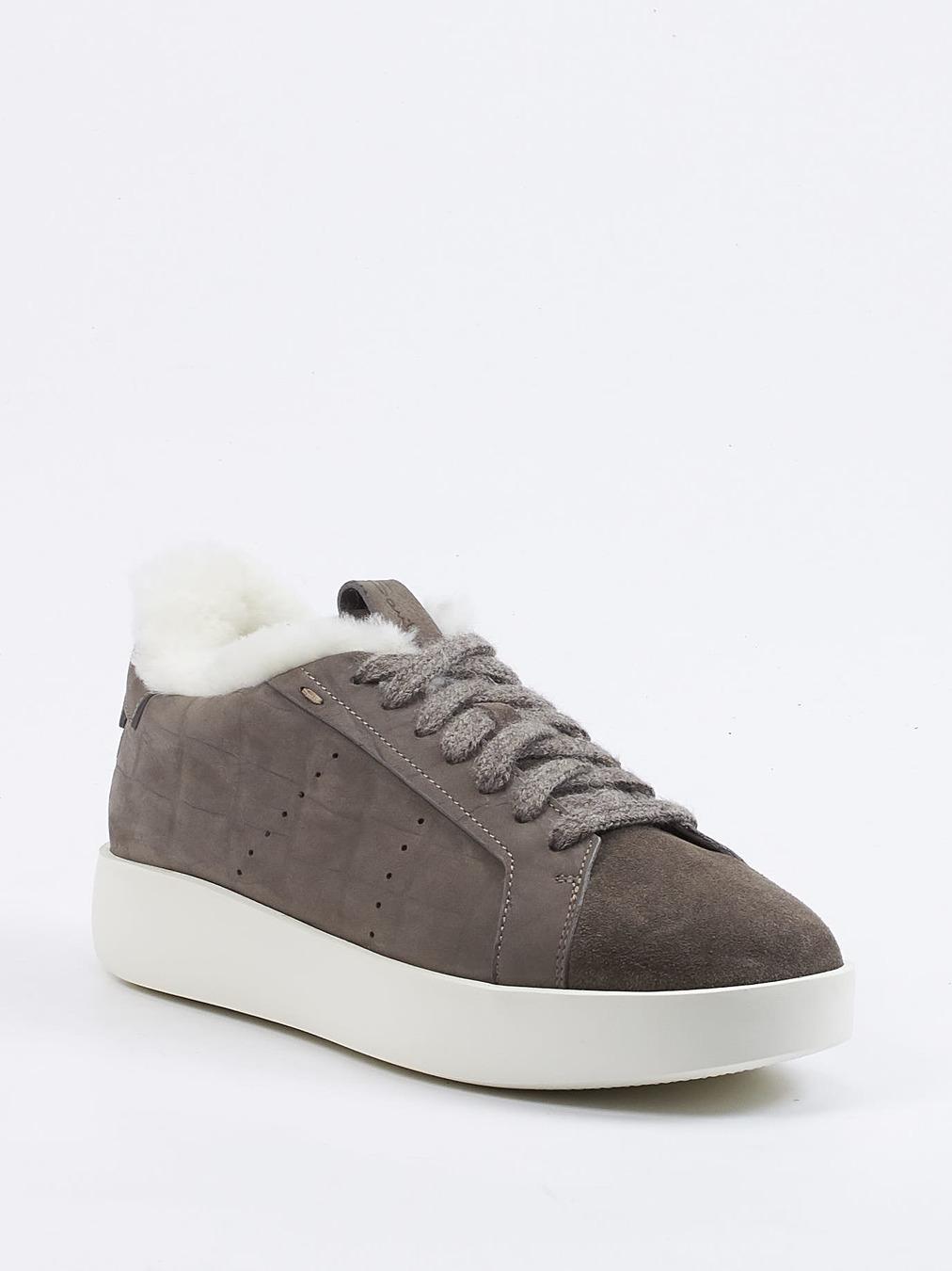Santoni Damen Sneaker in grau kaufen   Zumnorde Online Shop