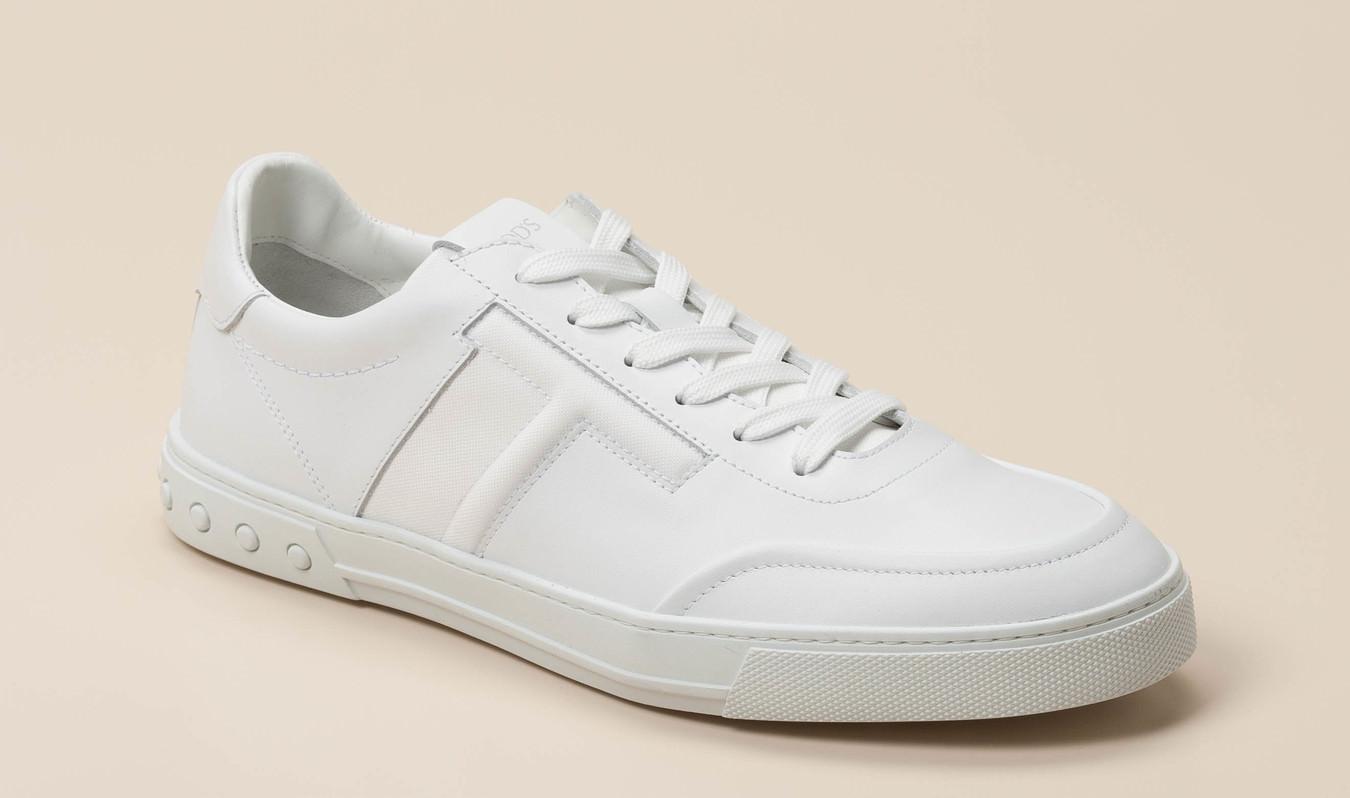 suche nach original großer Lagerverkauf Outlet-Store Tod's Herren Sneaker in weiß kaufen | Zumnorde Online-Shop