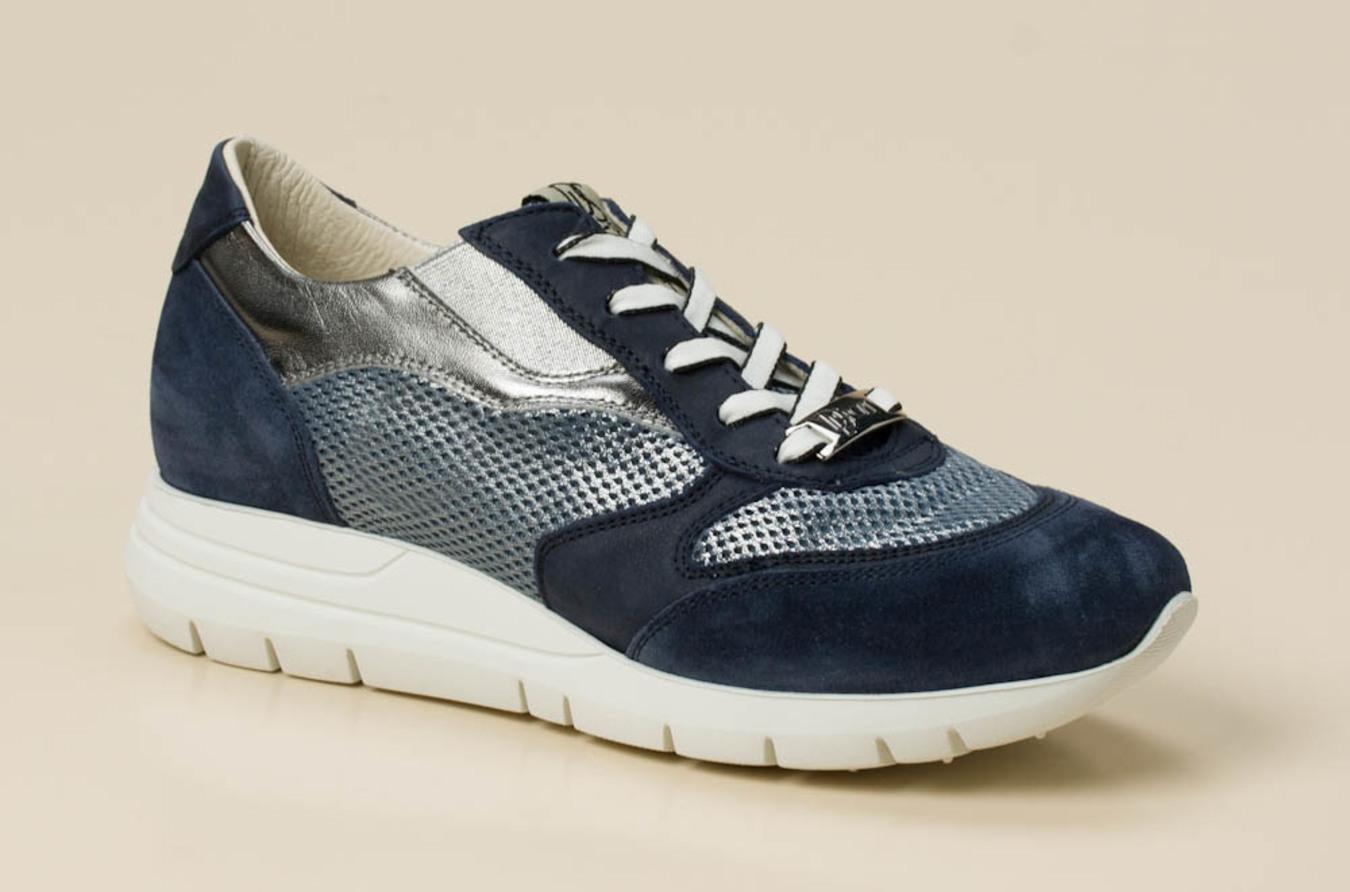DL Sport Damen Sneaker in blaugrau kaufen | Zumnorde Online Shop