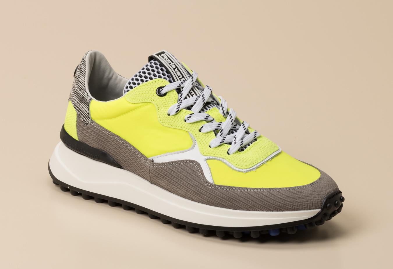Floris van Bommel Herren Sneaker in grün kaufen   Zumnorde Online Shop